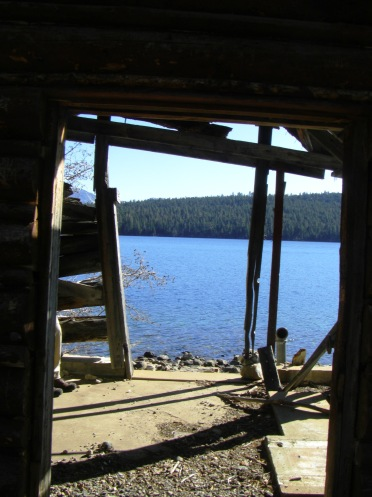 Boathouse at Fallen Leaf Lake