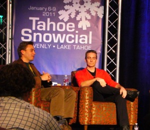 Travel panel at Tahoe Snowcial 2011