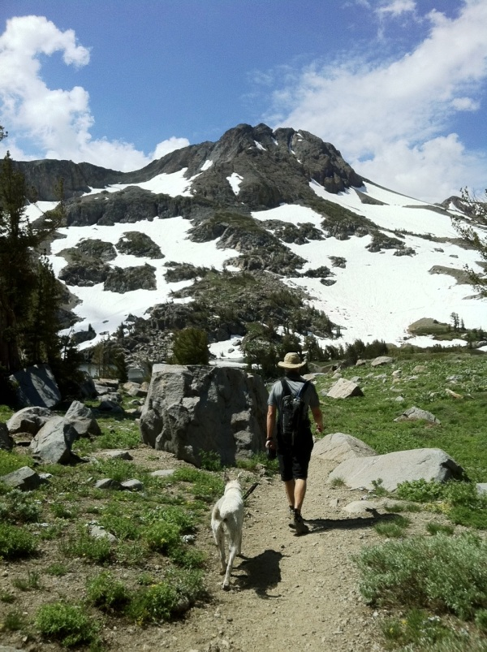 Round Top Carson Pass Snow