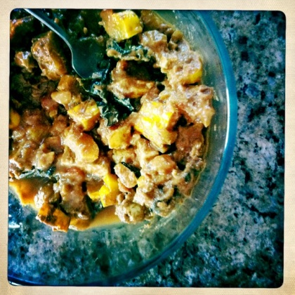 African groundnut stew