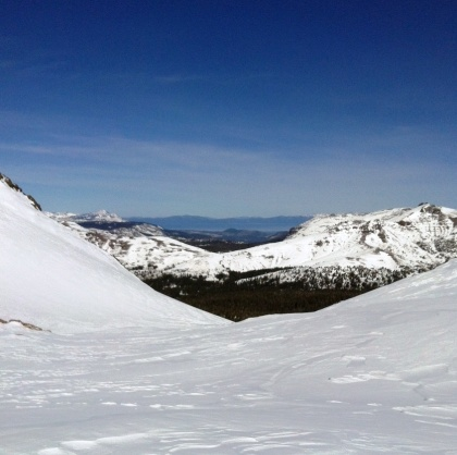 Views of Lake Tahoe from Alpine County