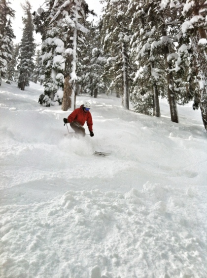 Powder Skiing Lake Tahoe