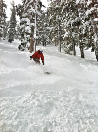 Powder Skiing Lake Tahoe