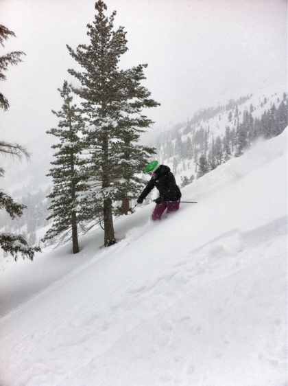 Deep snow at Kirkwood