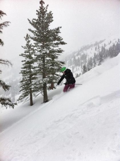 Deep snow at Kirkwood