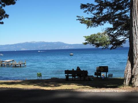 Lake views from Pine Lodge