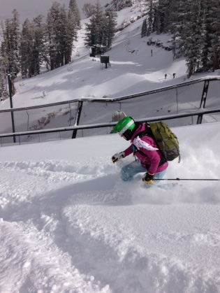 Kirkwood powder skiing