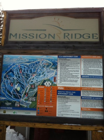 Mission Ridge ski resort