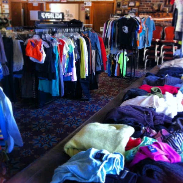 all tahoe clothing swap
