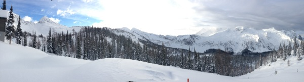 Powder Creek Lodge panorama
