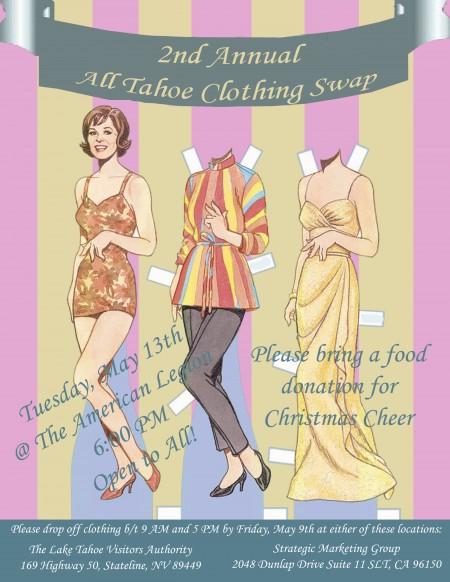 2014 All Tahoe Clothing Swap